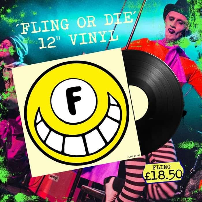 """FLING OR DIE 12"""" Vinyl (Signed) - FLING"""
