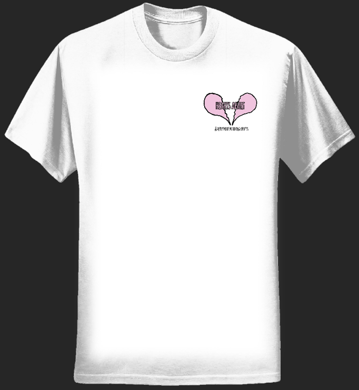 *Special Edition* Hearts Apart Tee - Flowers For Charlie