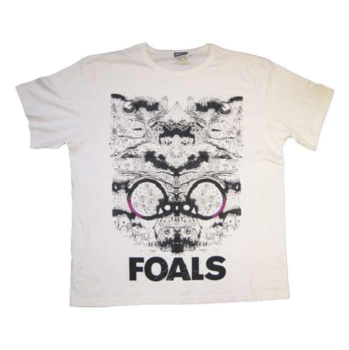 Block (Natural/Ecru Tee) - Foals