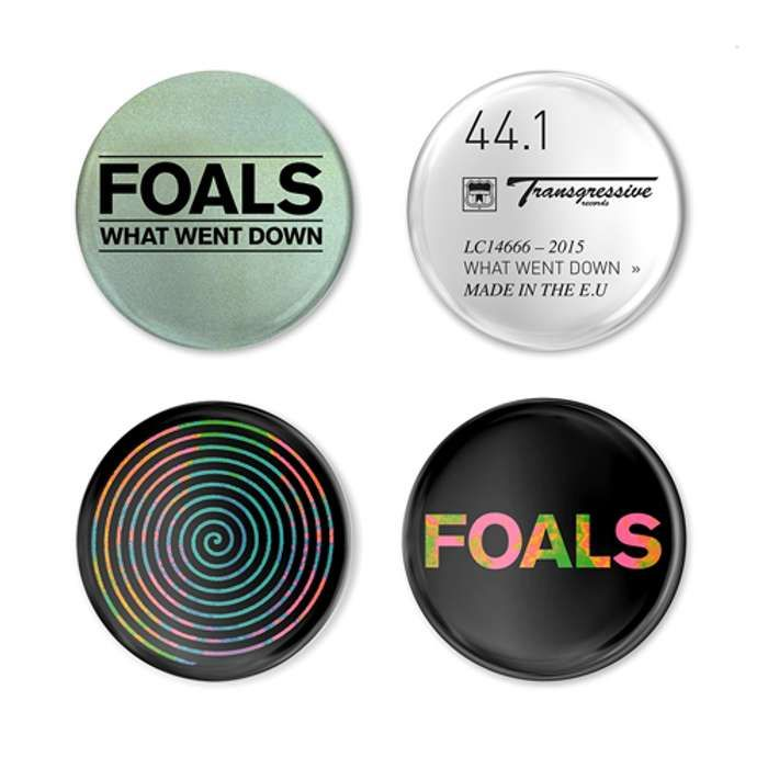 What Went Down Badge Pack - Foals