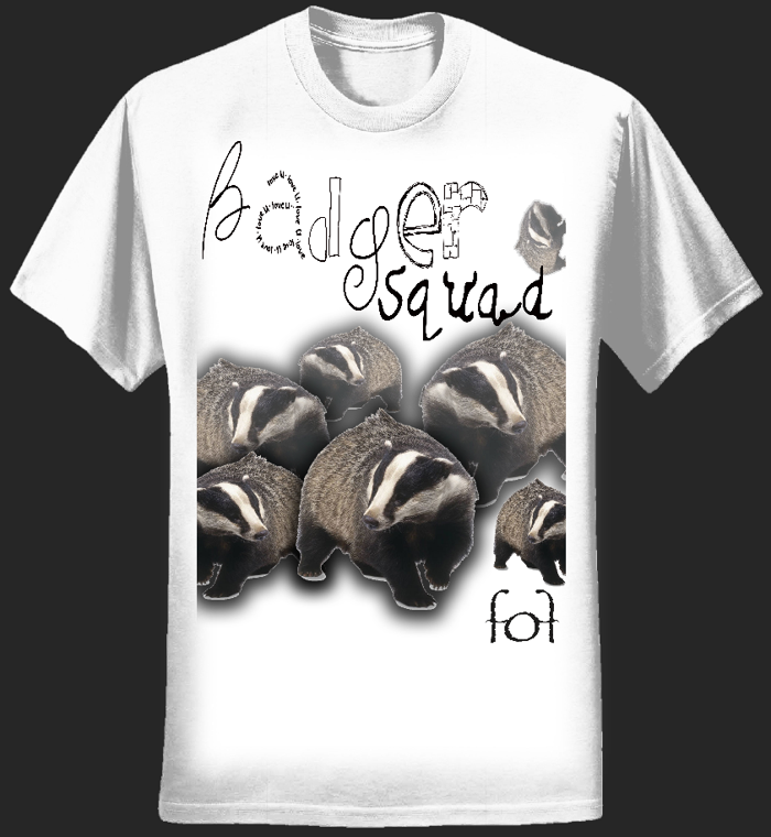 Ladies Badger Squad T-Shirt - forest of fools