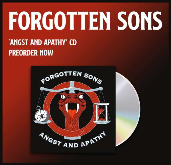 Angst and Apathy EP - Forgotten Sons
