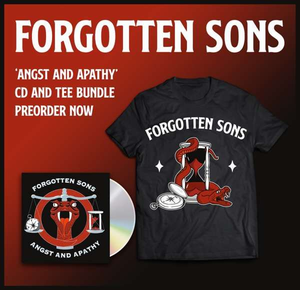 """Angst & Apathy"" T-Shirt/CD Bundle - Forgotten Sons"