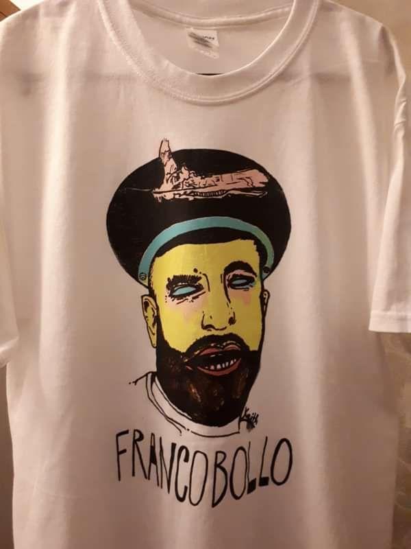 FRANCOBOLLO WHITE KEITH TEE - Francobollo