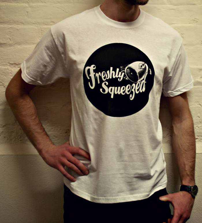 Freshly Squeezed Logo T-Shirt size L - Freshly Squeezed