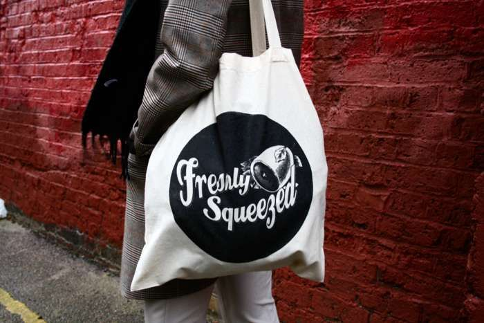 Freshly Squeezed Logo Tote Bag - Freshly Squeezed