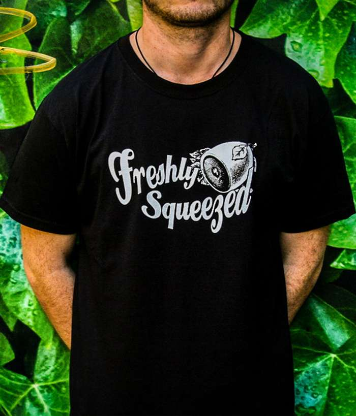 Freshly Squeezed T-shirt (Black) - Freshly Squeezed