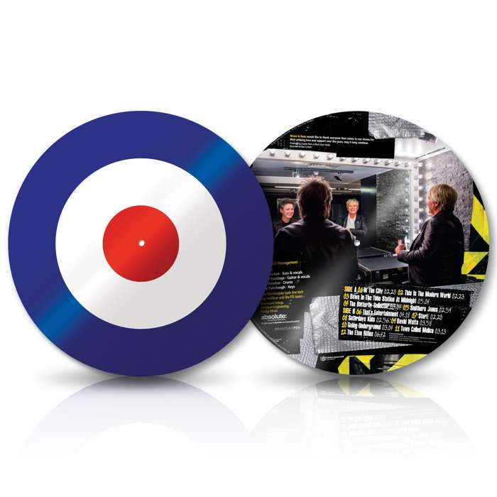 "From The Jam - Live! (Signed Target 12"" Picture Disc Vinyl) - From The Jam"