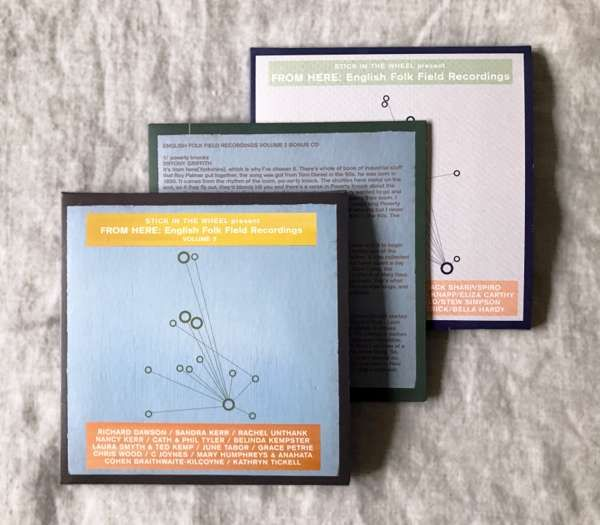BUNDLE: English Folk Field Recordings CD Volumes 1 & 2 plus limited edition BONUS CD - From Here Records