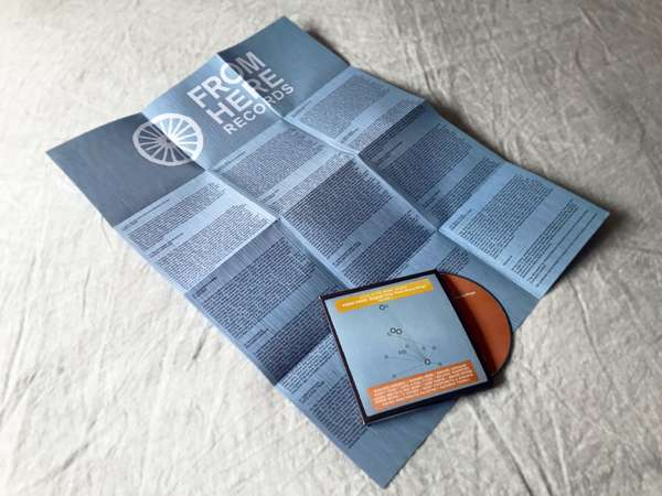 English Folk Field Recordings Volume 2 CD with foldout map and sleevenotes - From Here Records