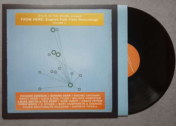 English Folk Field Recordings Volume 2 LP with printed inner sleevenotes - From Here Records