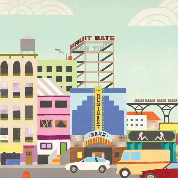 The Ruminant Band (CD) - Fruit Bats