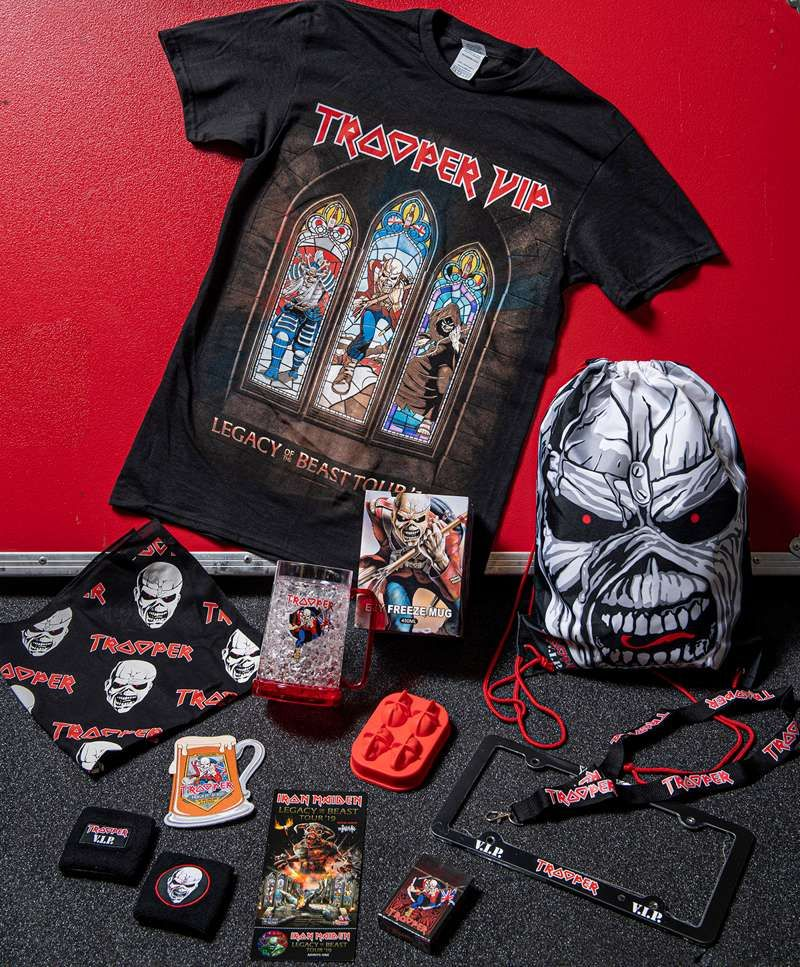 Official TROOPER VIP pre-show party at Xfinity Center, Boston on 01 Aug 2019