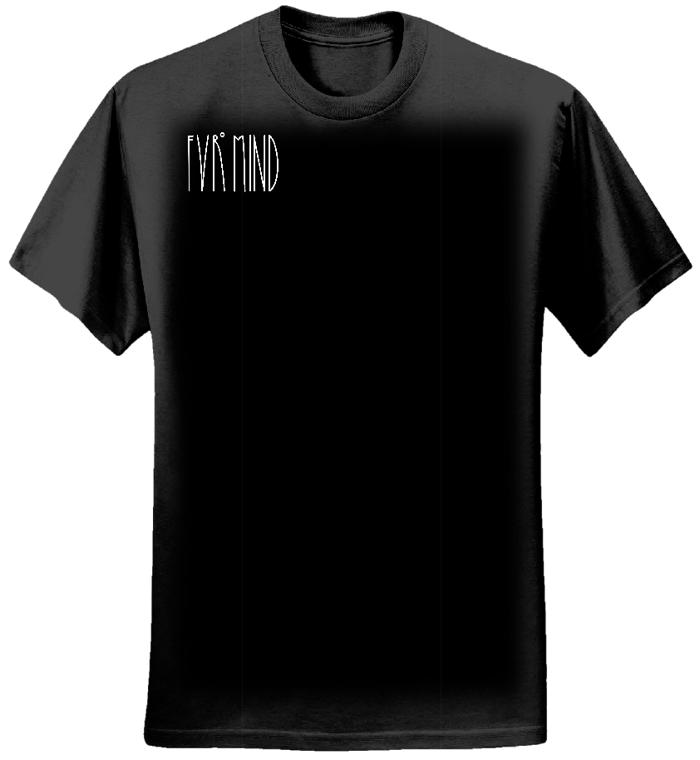 FVRlogosmall BLACK T-shirt - FVRmind