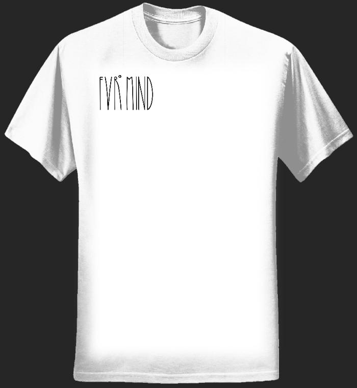 FVRlogosmall WHITE T-shirt - FVRmind