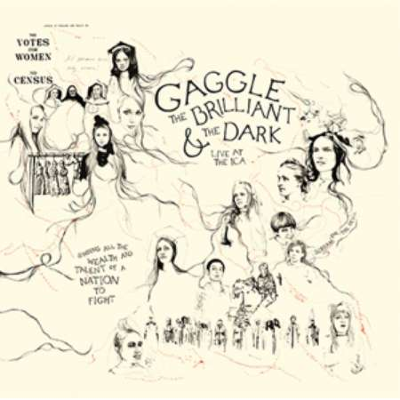 The Brilliant and the Dark - LP - Gaggle