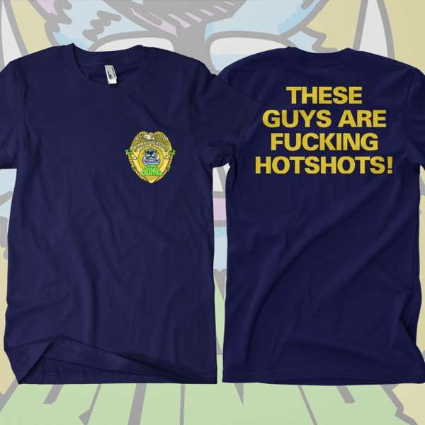 Gama Bomb - 'Miami Supercops' T-Shirt - Gama Bomb
