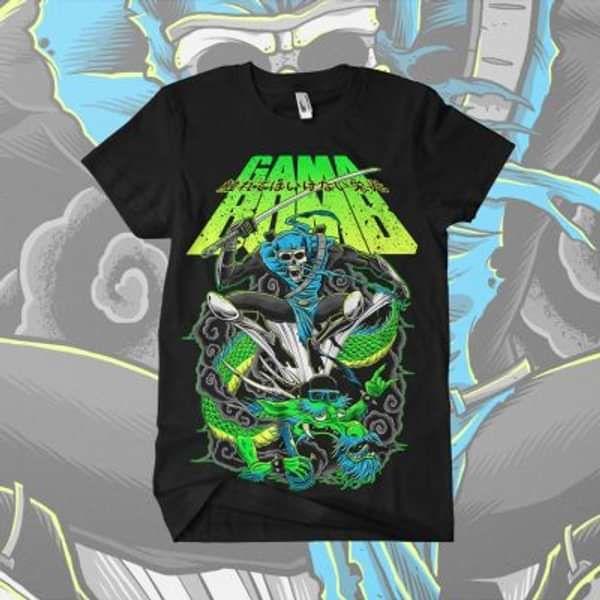Gama Bomb - 'Ninja' T-Shirt - Gama Bomb