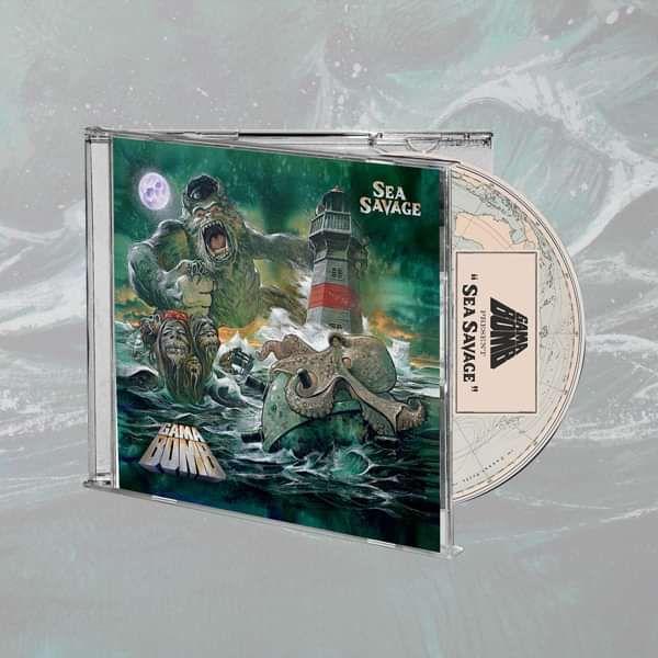 Gama Bomb - 'Sea Savage' Jewelcase CD - Gama Bomb
