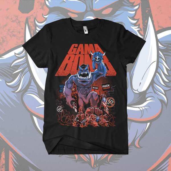 Gama Bomb - 'Snowy v The Alt Right' T-Shirt - Gama Bomb