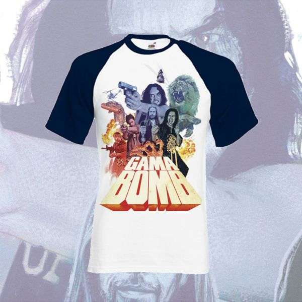 Gama Bomb - 'Untouchables' Baseball Shirt (Navy) - Gama Bomb