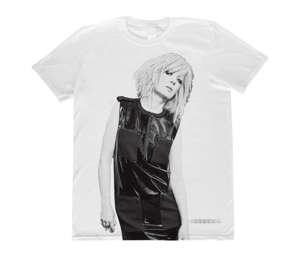 Shirley Photo T-Shirt - White - Garbage