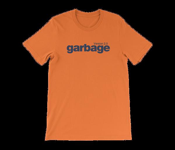 Version 2.0 T-Shirt - Orange - Garbage