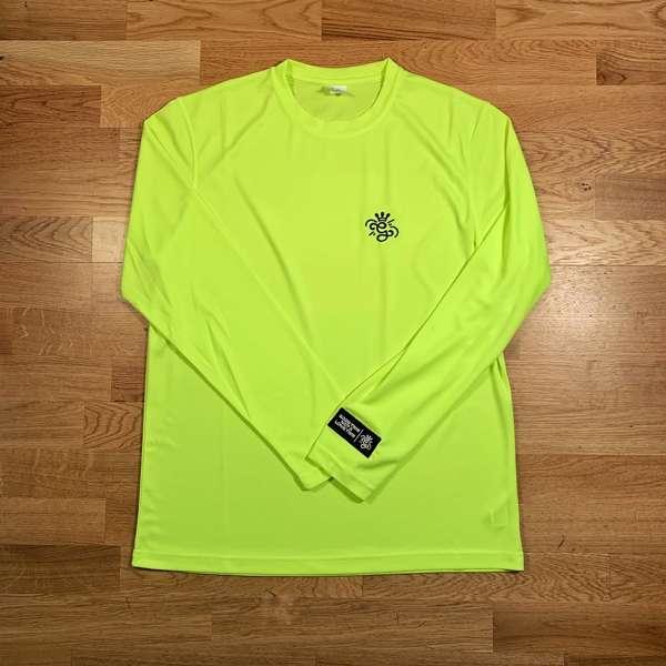 'G' Long Sleeve Neon Yellow T-Shirt - GARDNA