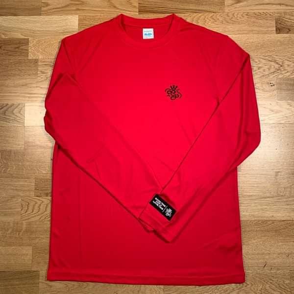 'G' Long Sleeve Red T-Shirt . - GARDNA