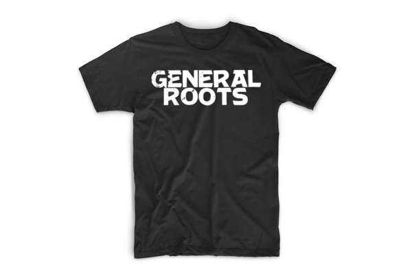 GR Classic Tee (Black) - General Roots