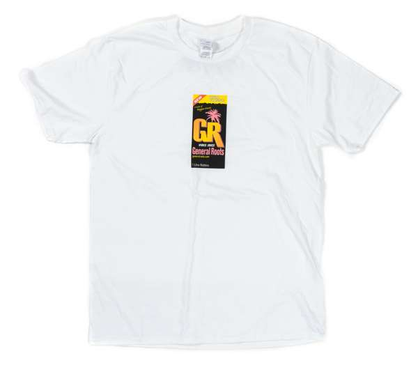 Juice Box Logo Tee (White/Unisex) - General Roots