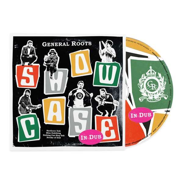 'Showcase In Dub' - CD - General Roots