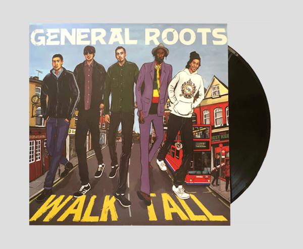"Walk Tall  - 12"" Vinyl LP - General Roots"