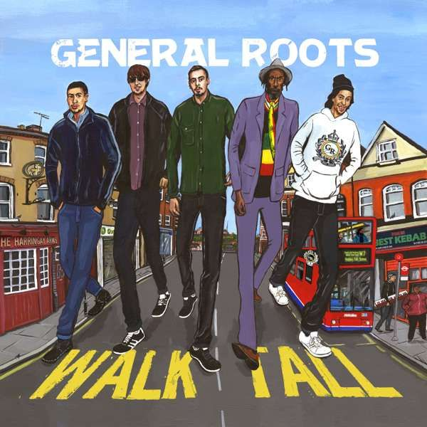 Walk Tall - MP3 Album - General Roots