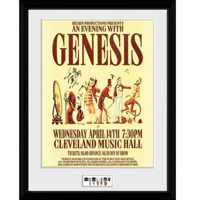 "Cleveland 12"" x 16"" Framed Print - Genesis"