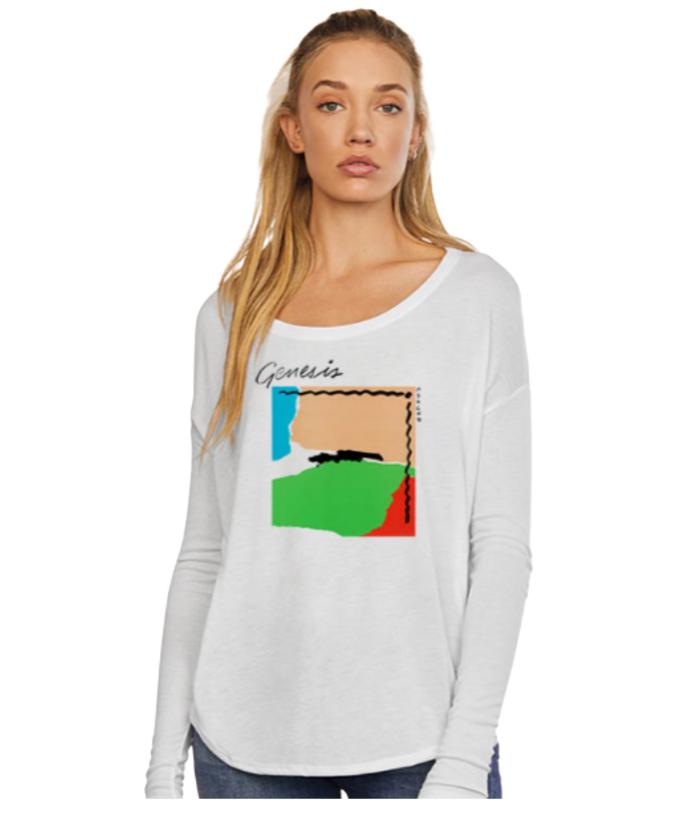 Genesis Abacab Ladies Scoop Shirt - Genesis