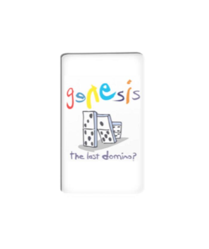 Genesis Domino Magnet - Genesis