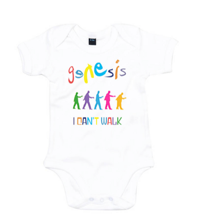 Genesis I Can't Walk Babygrow - Genesis