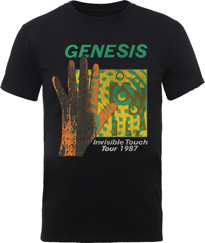 Invisible Touch Tour 1987 T Shirt - Genesis