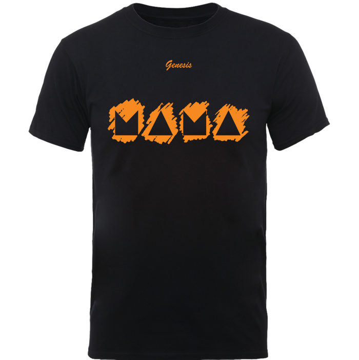 Mama Mono T Shirt - Black - Genesis