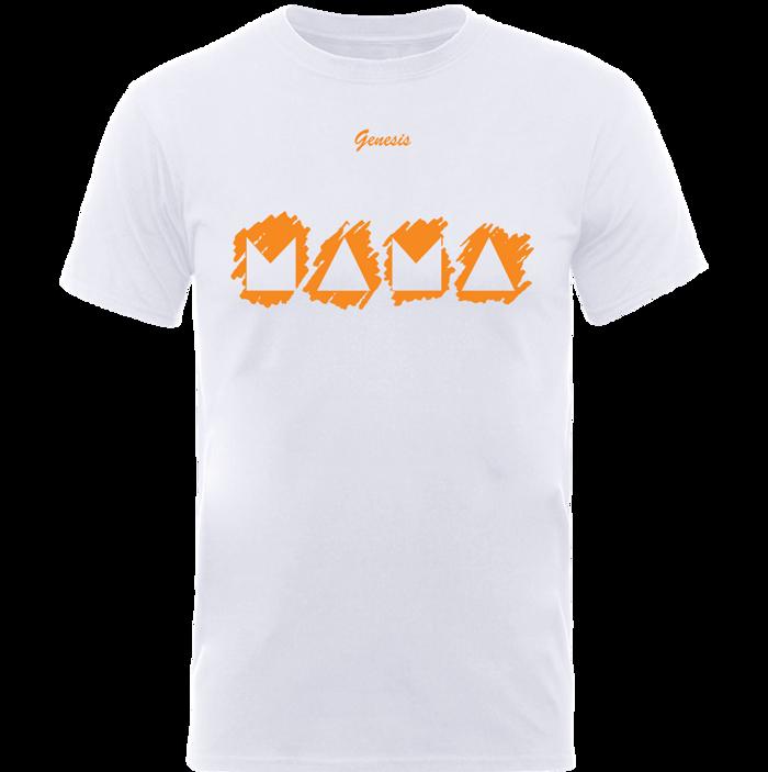 Mama Mono T Shirt - White - Genesis