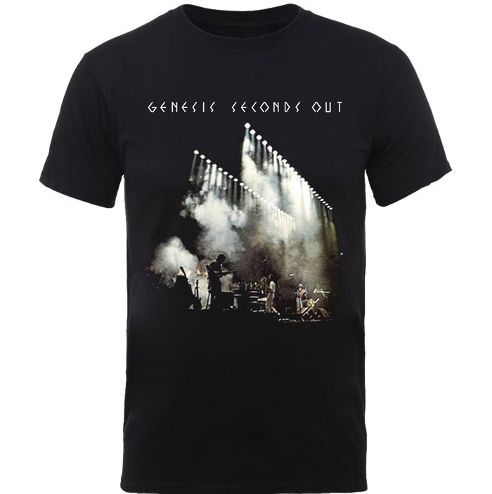 Seconds Out T Shirt - Genesis