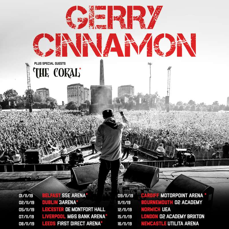 Gerry Cinnamon At M S Bank Arena Liverpool On 07 Nov 2019
