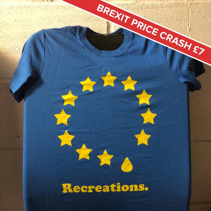 2016 Recreations European Tour T Shirt - Get Cape. Wear Cape. Fly