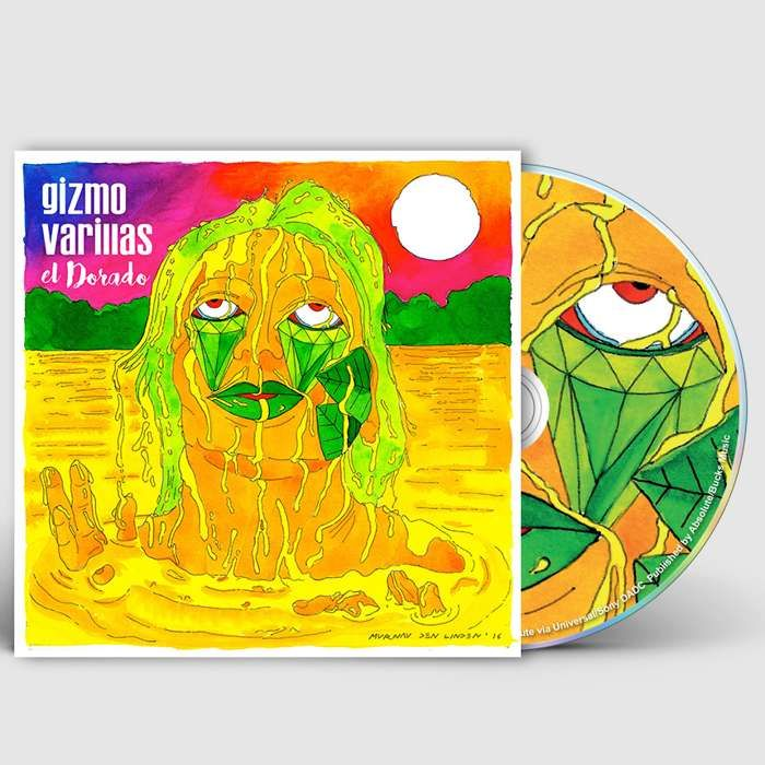 El Dorado (Limited Signed CD) - Gizmo Varillas