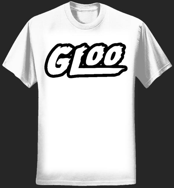 GLOO LOGO SHIRT - WHITE - Gloo