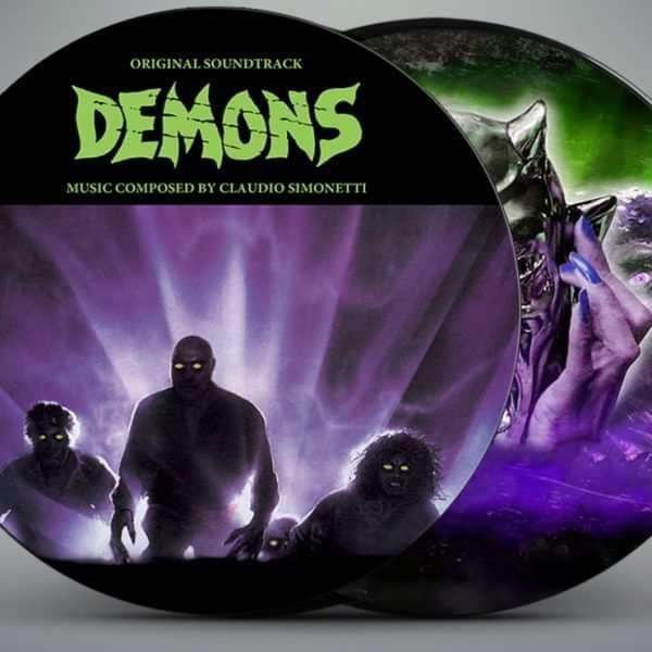 DEMONS PICTURE DISC - Claudio Simonetti's Goblin