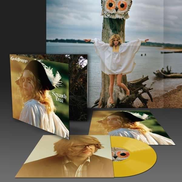 Goldfrapp - Seventh Tree Limited Edition Yellow LP - Goldfrapp