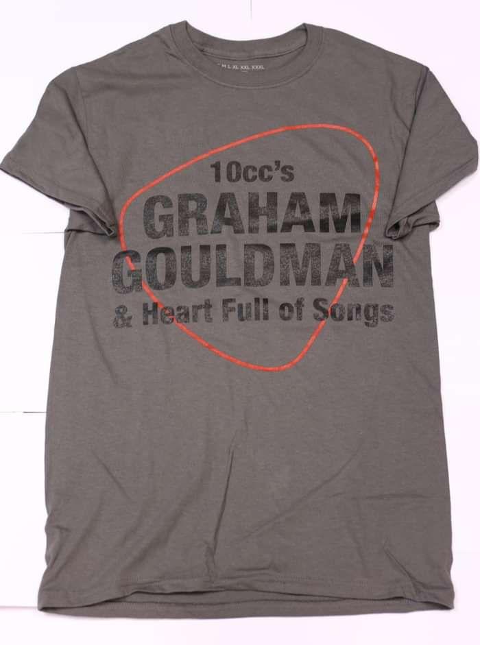 2017 Tour T-shirt - Grey - Graham Gouldman