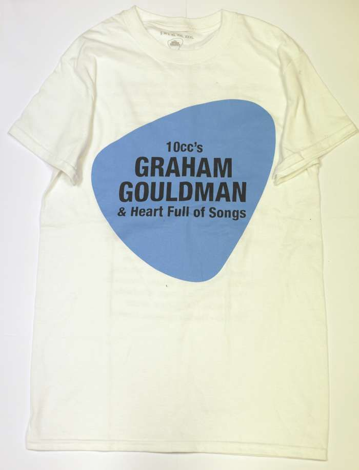 2017 Tour T-shirt - White - Graham Gouldman